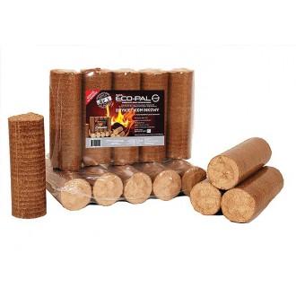 Kamna - Dřevěné brikety ECO-PAL - ECOMAX 6kg