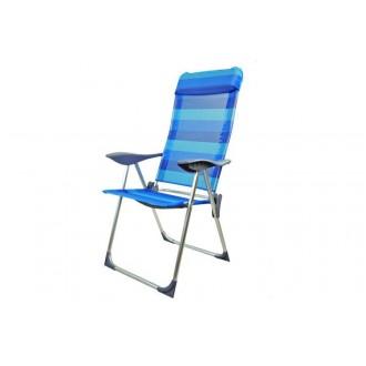 Zahradní nábytek - Kempingové skládací křeslo TENERIFE - modré JLC406