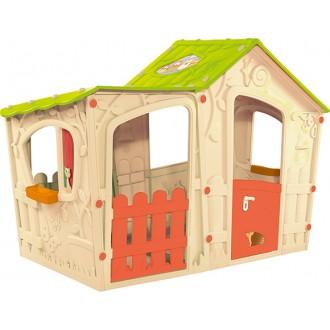 Zahradní domky - Dětský domek Keter Magic Villa House - beige