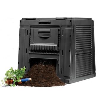Kompostéry - Zahradní kompostér KETER E-COMPOSTER 470L