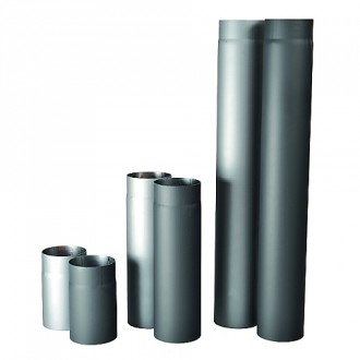 Kamna - Roura kouřová silnostěnná 120mm / 1000mm / 1,5mm