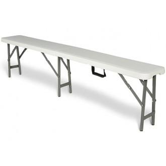 Zahradní nábytek - Cateringová lavice - skládací 183 cm