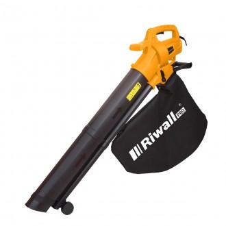 Zahradní technika - Riwall PRO REBV 3200 e vysavač/foukač s elektrickým motorem 3200 W