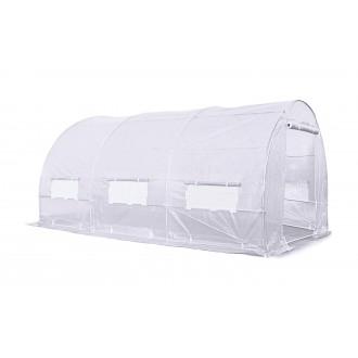 Fóliovníky - Zahradní fóliovník bílý 2x4m Focus Garden