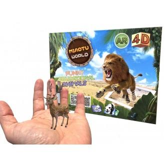 Sport a zábava - Živá zvířata AR - edukativní hra s virtuální realitou