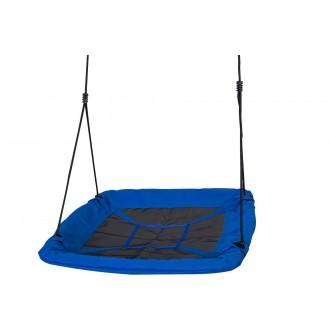Sport a zábava - Dětská houpačka - čapí hnízdo, obdélníková modrá GR0129
