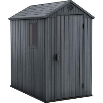 Zahradní domky - Zahradní domek Keter Darwin 4x6 - Grey