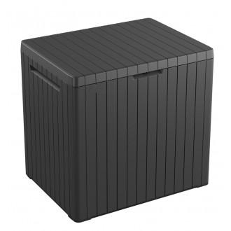 Zahradní nábytek - Keter City Storage graphite - zahradní úložný box 113 L