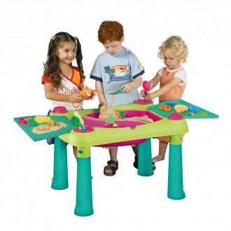 Sport a zábava - Dětský hrací stolek Keter SAND & WATER - violet