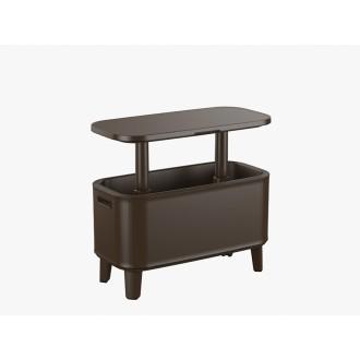 Zahradní nábytek - Zahradní barový stolek 2v1 KETER Breeze Bar - brown