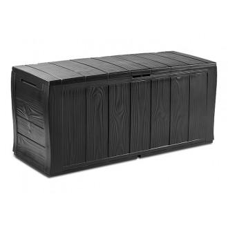 Zahradní nábytek - Keter Sherwood graphite - zahradní úložný box 270 L