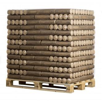Kamna - Dřevěné brikety ECO-PAL - ECOMAX paleta 756kg