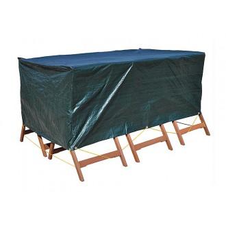 Zahradní nábytek - Krycí plachta na zahradní nábytek 200 x 140 x 80 cm