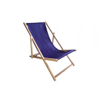 Zahradní nábytek - Zahradní lehátko Klasik - Navy Blue