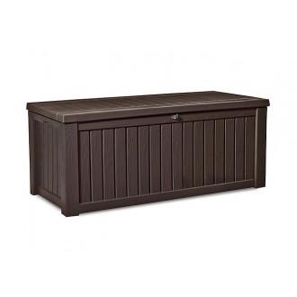 Zahradní nábytek - Keter Rockwood Brown - zahradní box 570 L