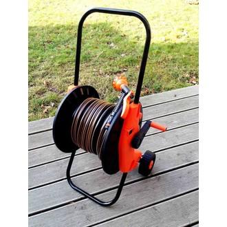 """Zavlažování - Zahradní hadice 30m 1/2"""" s vozíkem"""