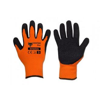 Ochranné pomůcky - Zimní pracovní rukavice Winter Fox vel. 9