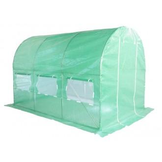 Fóliovníky - Zahradní fóliovník zelený 2x3m HomeGarden