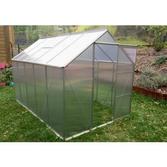 Skleníky - Zahradní polykarbonátový skleník 310x190 cm VespaGarden