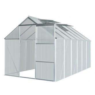 Skleníky - Zahradní skleník 370x190 cm