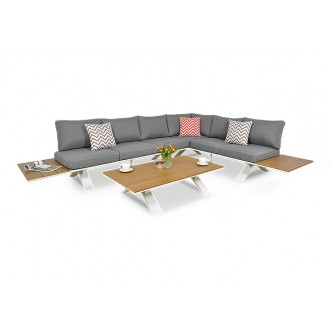 Zahradní nábytek - Zahradní rohový set Sorrento
