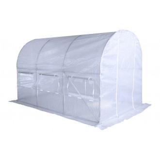 Fóliovníky - Zahradní fóliovník bílý 2x3,5m HomeGarden