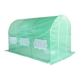 Fóliovníky - Zahradní fóliovník zelený 2x3,5m HomeGarden