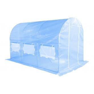 Fóliovníky - Zahradní fóliovník HomeGarden 2x3,5m modrý - NOVINKA !