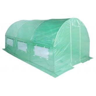 Fóliovníky - Zahradní fóliovník zelený 3x4,5m HomeGarden
