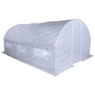 Fóliovníky - Zahradní fóliovník bílý 2,5x5m HomeGarden