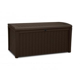 Zahradní nábytek - Keter Borneo Brown - zahradní úložný box 416 L