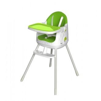 Zahradní nábytek - Dětská rostoucí jídelní židlička KETER Multidine - Green