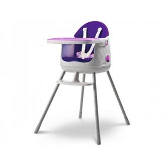 Zahradní nábytek - Dětská rostoucí jídelní židlička KETER Multidine - Violet