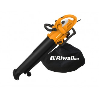 Zahradní technika - Riwall PRO REBV 3000 vysavač/foukač s elektrickým motorem 3000 W