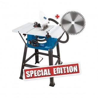 Zahradní technika - Scheppach HS 81 S Special Edition stolová pila + 2. kotouč zdarma