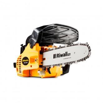 Zahradní technika - Riwall PRO RPCS 2530 řetězová vyvětvovací pila s benzinovým motorem