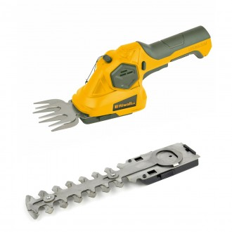 Zahradní technika - Riwall PRO RASH 1236 aku nůžky 3,6 V na trávu a keře