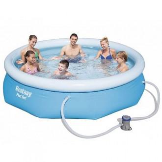Bazény a vířivky - Bazén Fast Set 3,05 x 0,76 m - s filtrací 57270