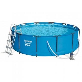Bazény a vířivky - Bazén Steel Pro Max 3,66 x 1 m - 56418 + filtrace a schůdky
