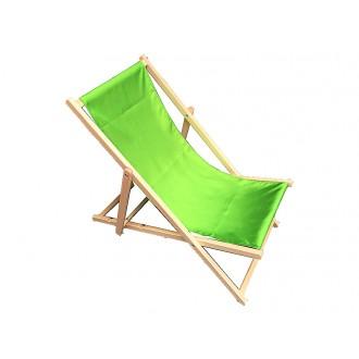 Zahradní nábytek - Zahradní lehátko klasik - zelené