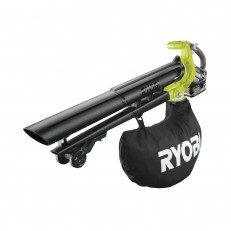 Ryobi RBV1850 aku 18V bezuhlíkový foukač/vysavač + 1x 5Ah baterie + nabíječka ONE+