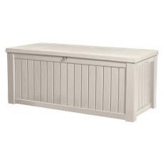 Keter Rockwood Cream - zahradní box 570 L