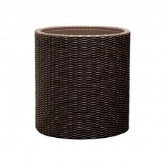 KETER Květináč Cylinder Planter S Brown
