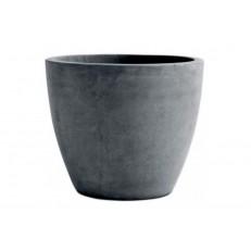 KETER Květináč Beton Round Planter 53L Dark grey