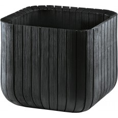 KETER Květináč Small Wood Look Planter Grey