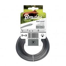 Žací struna BRADAS Ripper Dual 2,4 mm x 50 m kulatá