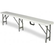 Cateringová lavice - skládací 183 cm