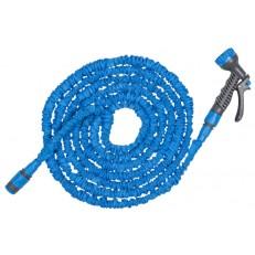 Komplet flexibilní zahradní hadice TRICK HOSE 5-15m - světle modrá
