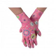 Dámské pracovní rukavice GR0041 vel. 7 - růžové