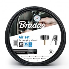 Komplet sada na huštění pneumatik Bradas 12 m